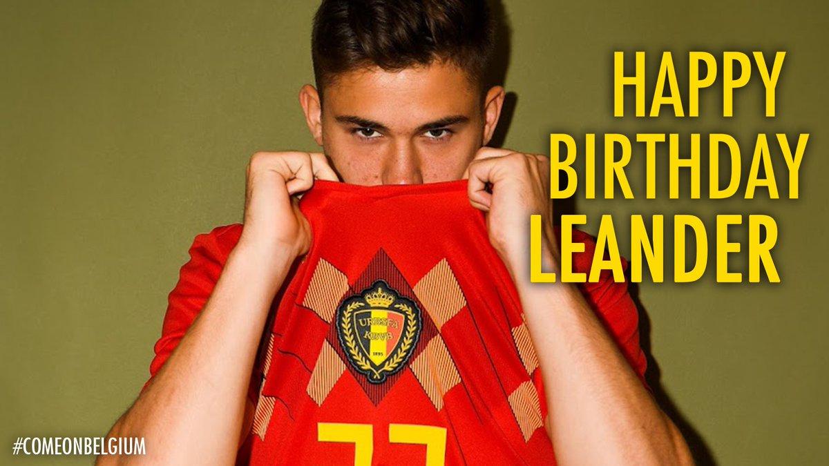 🎊🎁 24 🎁🎊  Happy Birthday Leander #Dendoncker 😊  #COMEONBELGIUM 🇧🇪 #EuropeanQualifiers #EURO2020