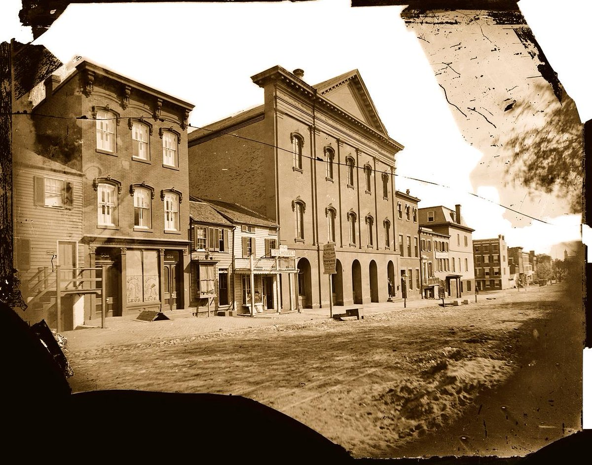 Ford's Theatre at time of Lincoln's assassination: