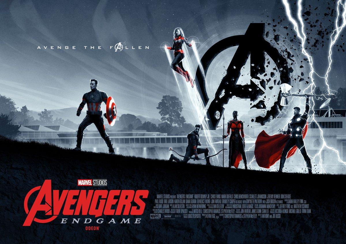 Matt Ferguson On Twitter Here S My Official Avengers Endgame