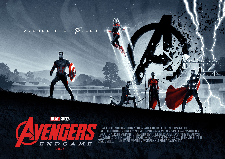 AVENGERS: ENDGAME - Matt Ferguson's Odeon Exclusive Posters