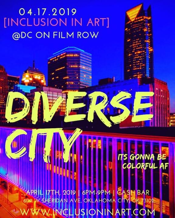 TONIGHT!!! RT @inclusioninart: Join us this week for our annual networking event: DiverseCITY! Light snacks, drinks and good conversation will be provided. We hope to see you there! Wednesday, April 17th  6-9pm Dunlap Codding 609 W Sheridan Ave FREE
