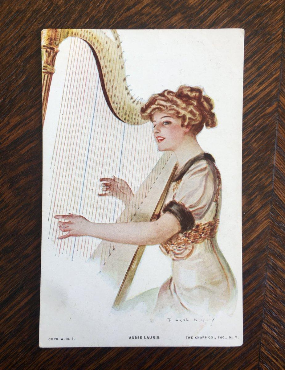 Первое сентября, почтовые открытки энни пру