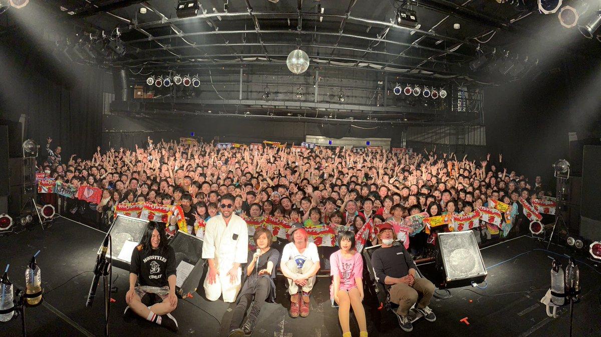 いや〜!ライブハウス、くそたのし〜〜!!!