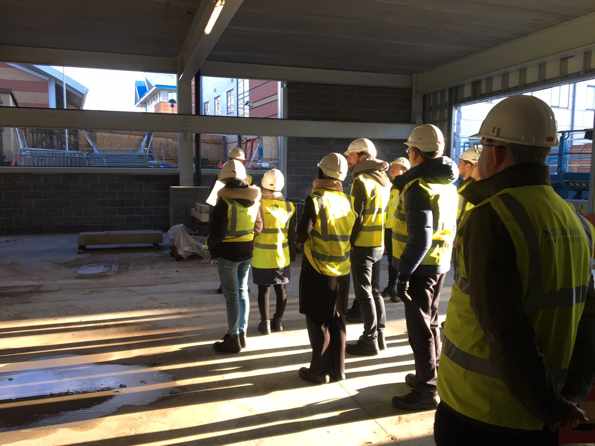 We recently welcomed Nottingham Trent University @TrentUni Staff and Students to take a tour of their new Engineering Building, to see how the build is progressing and to get a feel for what their new facility will become. #loveconstruction #studenttours #CSR #engineering<br>http://pic.twitter.com/zV8vQHl8lJ