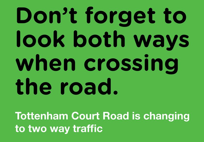 This Easter Tottenham Court Road will be changing to a two-way road as part of Camden's West End Project. Find out more and download the guide for businesses and deliveries https://t.co/I8T41Lchsd @FitzPartnership @EustonTown  @kingscrossN1C @HattonGDN @inmidtownbuzz https://t.co/E2wdkgXI0m