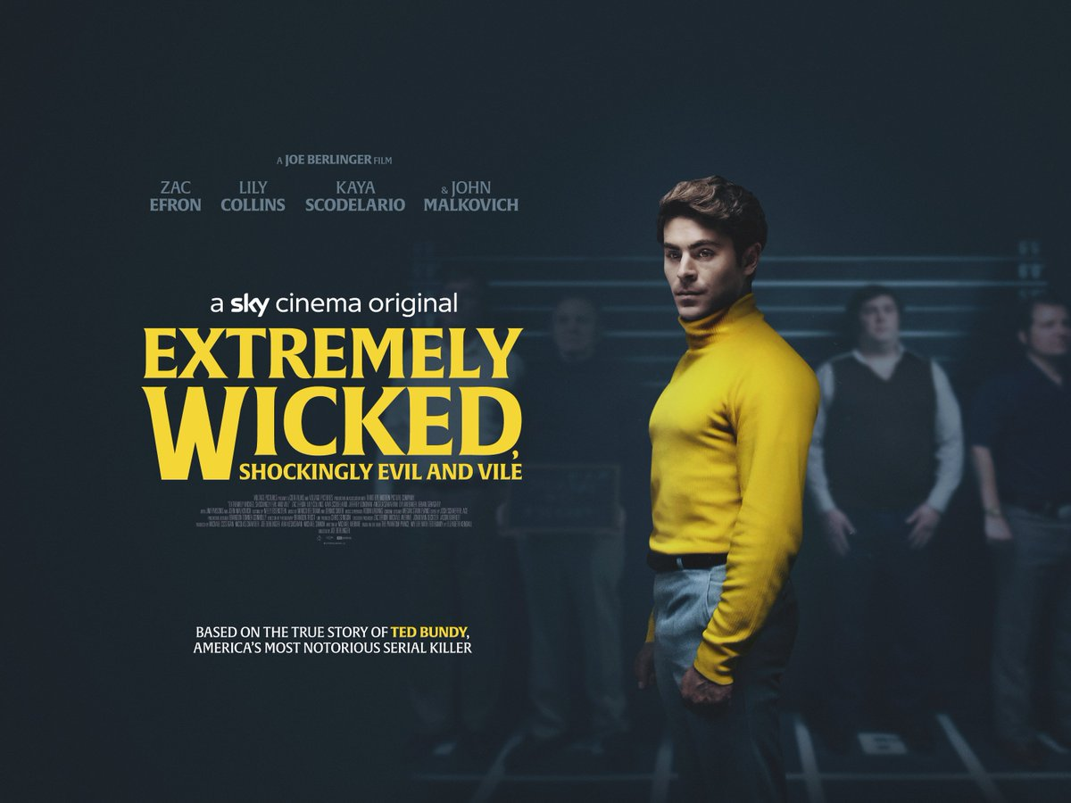 Image result for extremely wicked, shockingly evil and vile poster