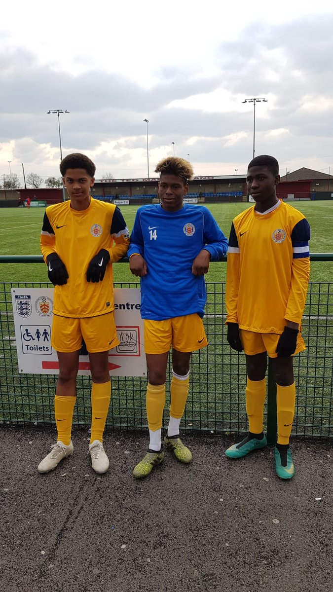 Well done Louis, Les and Sahr (Captain) for representing @GlosFA U16 in the 1-0 victory against @SomersetFA.