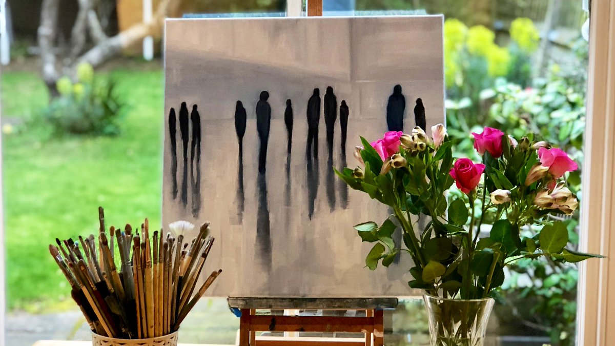 Happy #WorldArtDay. To all my amazing friends, fellow #artists & followers I wish you a happy & #creative time. Lovely to celebrate the #art & #creativity in our lives today & every day. Thank you so much for all your wonderful support - just so appreciated. You are the best.<br>http://pic.twitter.com/ibt0ZOxR5L