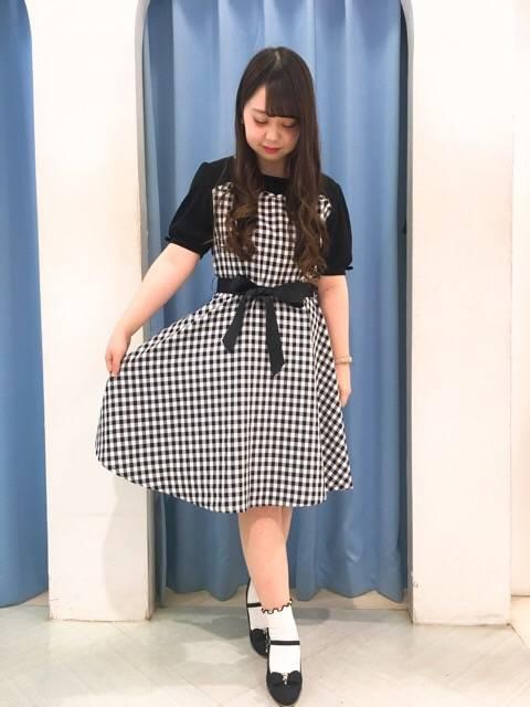 ドッキングワンピース♡ http://snap.hana-bi.jp/front/detail/id/78964…