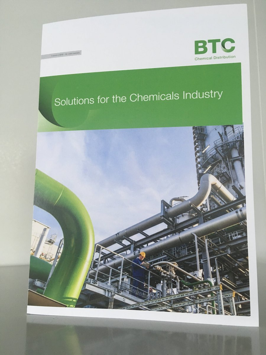 Look what has just landed on our desks! Our brand new @BTC_Europe_UK #Chemicals Brochure.  Just over 2 weeks to go until the doors open on the first ever @chemukexpo  Visitor registration is off the scale and we are very excited to meet everyone on Stand M21. #CHEMUK<br>http://pic.twitter.com/rmkdrldRGf