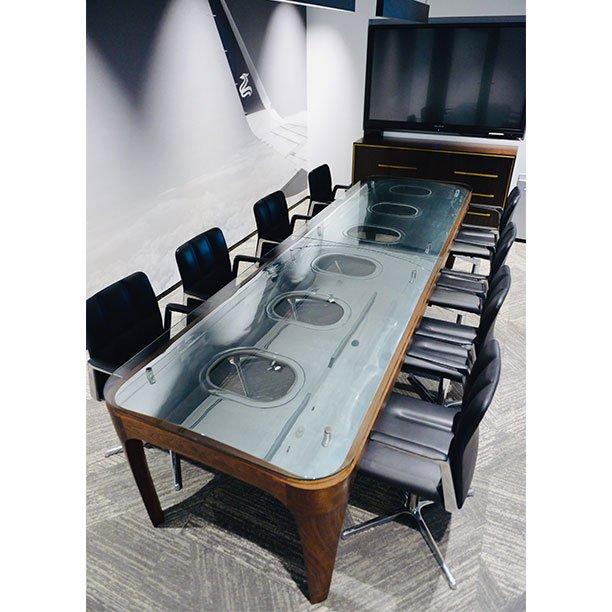 Avgeek Aircraft Airbus Aviation Furniture Office Conferencetable Bespoke Design Pilot Interior Twitter Alkyuovjz2