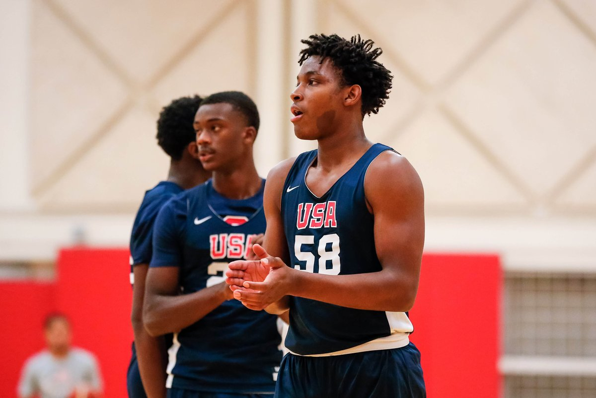Yessir !! RT @usatodayhss: Freshman SG M.J. Rice is focused on work and fun on the court for @TeamWallElite at the #AdidasGauntlet  READ ➡️ http://bit.ly/2KGpPps