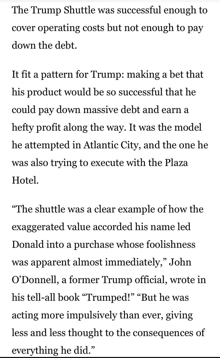 "Trump Airlines  https://www. bostonglobe.com/news/politics/ 2016/05/27/donald-trump-airline-went-from-opulence-air-crash-landing/zEf1Er2Hok2dPTVVmZT6NP/story.html &nbsp; …   Trump ""University""  https://www. usatoday.com/story/news/pol itics/onpolitics/2018/04/10/trump-university-settlement-judge-finalized/502387002/ &nbsp; …  Trump Steaks  https://www. washingtonpost.com/lifestyle/food /hey-trump-wheres-the-beef-trump-steaks-are-so-rare-we-cant-even-find-one/2016/03/22/175b682a-ebc3-11e5-bc08-3e03a5b41910_story.html &nbsp; …  Trump Water  http:// nymag.com/nymetro/news/p eople/columns/intelligencer/n_9436/ &nbsp; …   <br>http://pic.twitter.com/FSlKoEXK2K"