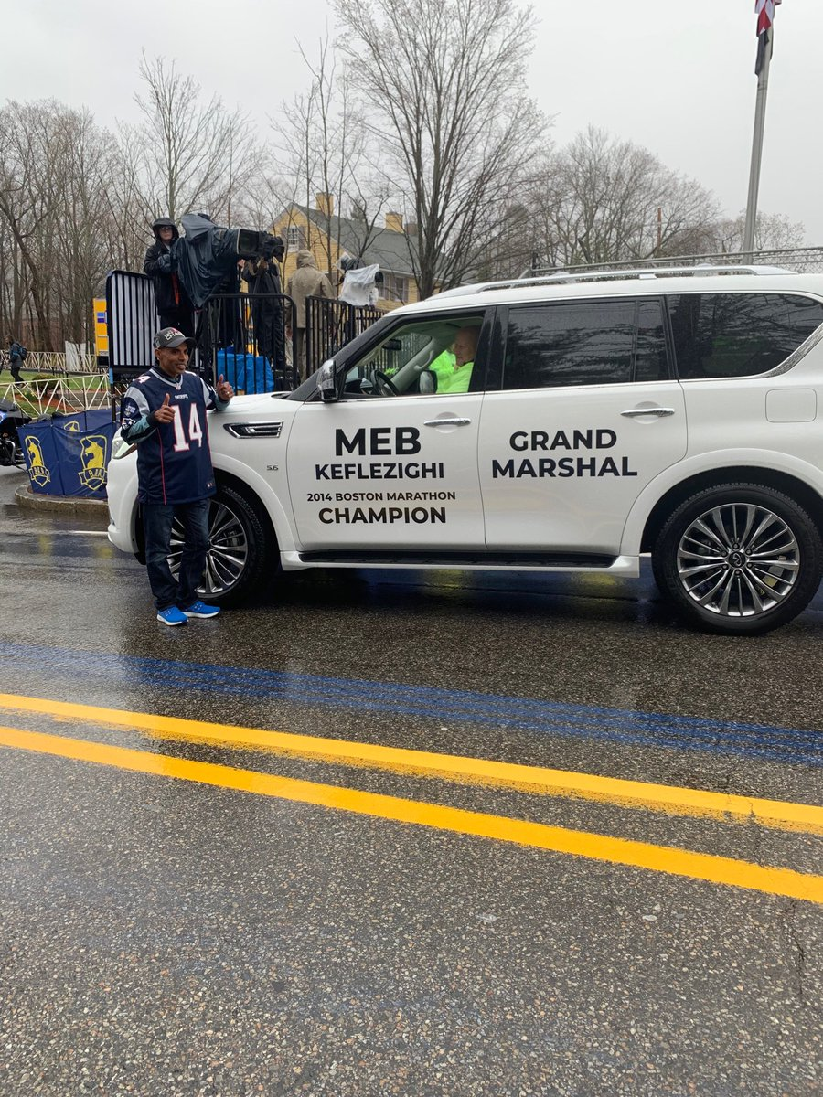 My 26.2 mile journey from Hopkinton to ⁦@bostonmarathon⁩ finish will be my fastest ever. As Grand Marshal, I will lead 30,000 runners...in a car! Let's Go!!!<br>http://pic.twitter.com/gI6G8fbf4y
