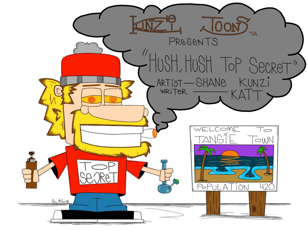 Whoa! #MondayMorning  Great day 4 our new #TopSecret cartoon. We're having a blast introducing our #greenteam characters n appreciate all your retweets/likes.  Y'all keep us motivated!  #MondayThoughts wake n bake with Top Secret.  #MondayMotivation <br>http://pic.twitter.com/0oh5pcxGwd