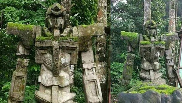インドネシア中部ジャワのニャマットでガンダムの遺跡が発見 ...