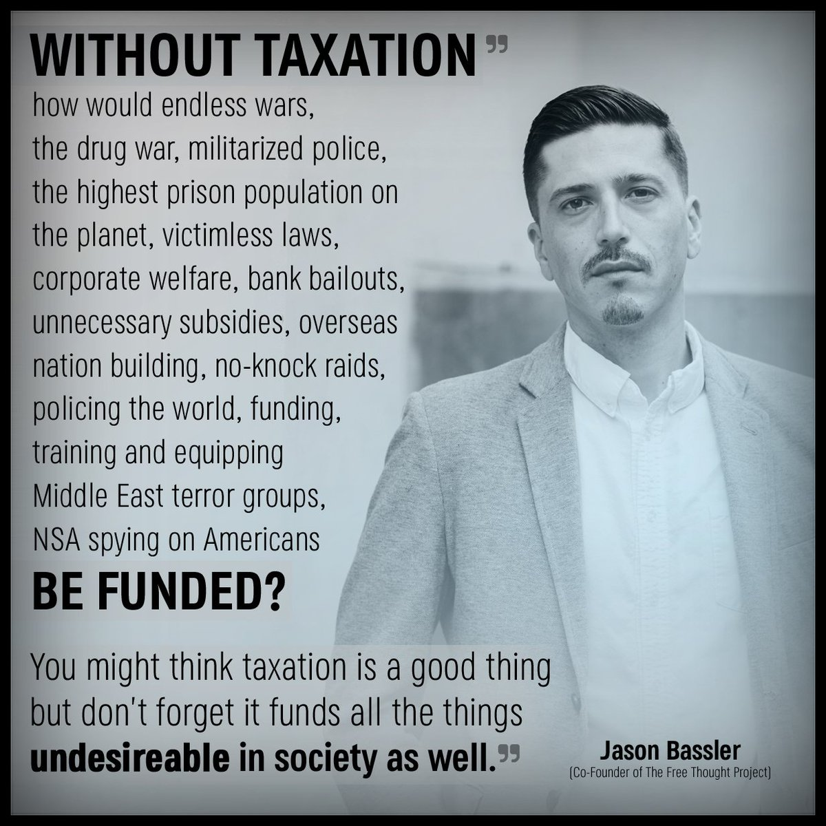 A VERY important point on tax day from the TFTP co-founder!   #TaxationIsTheft #TaxationIsViolence <br>http://pic.twitter.com/Z1tJSyhiJW
