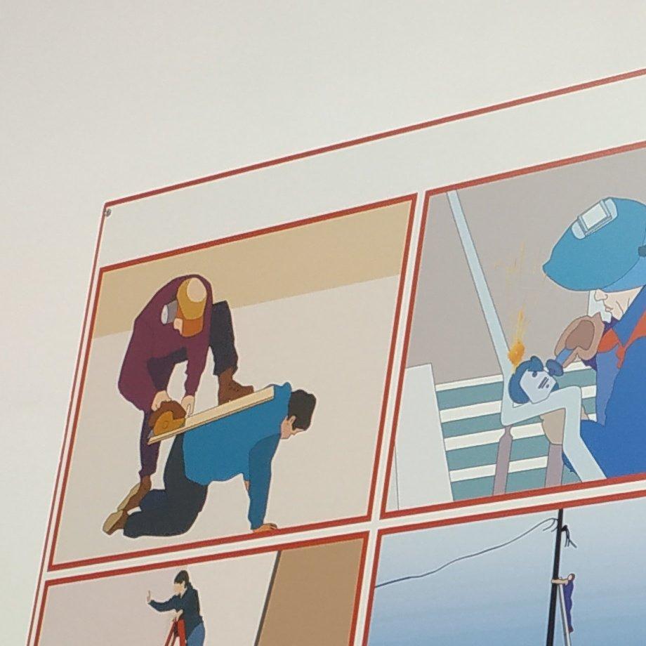 плакаты вывески картинки по охране труда портфолио художника уже