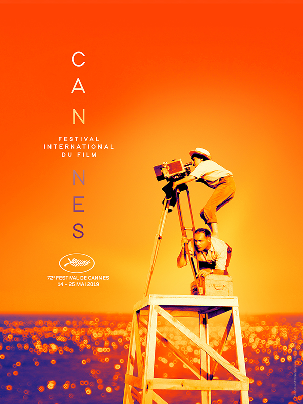 The official poster for the 72nd edition of the Cannes Film Festival pays tribute to Agnès Varda using a behind the scenes photo of her on the set of her first film La Pointe-courte which premiered at Cannes in 1955. <br>http://pic.twitter.com/YB2BkptwJt