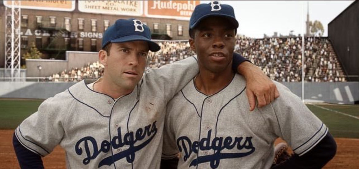 &quot;Maybe tomorrow we&#39;ll all wear 42, so nobody could tell us apart&quot; #JackieRobinsonDay <br>http://pic.twitter.com/p1B9r7hLI7