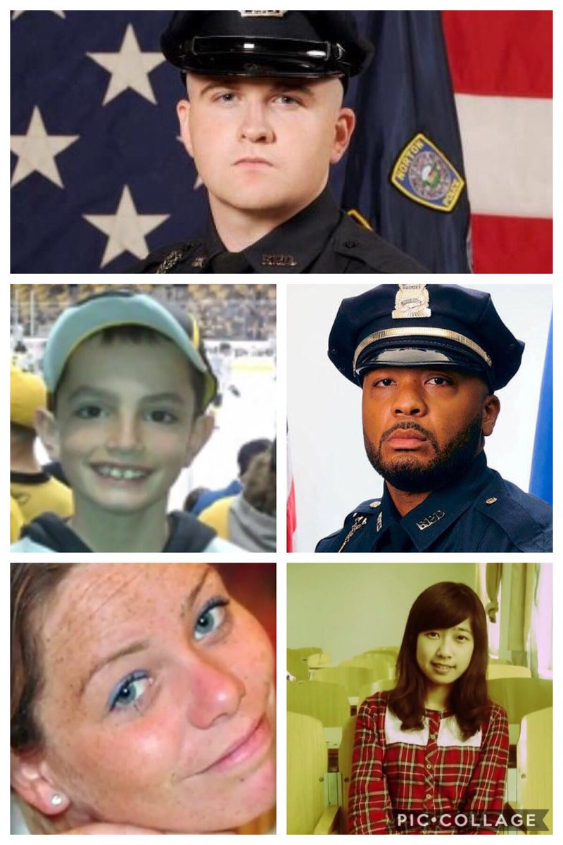 The 123rd #BostonMarathon is the 1st time it has fallen on the same day as the 2013 bombings. Today we remember OFC Sean Collier, Martin Richard, OFC Dennis Simmonds, Krystle Campbell &amp; Lingzi Lu. At 2:49p.m. there will be a moment of silence at finish line #bostonstrong #7news<br>http://pic.twitter.com/2LbZimiOO6