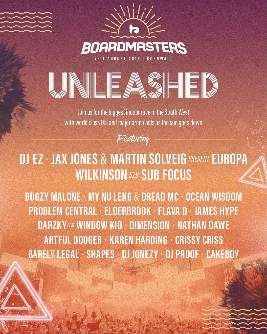 Boardmasters Festival lineup