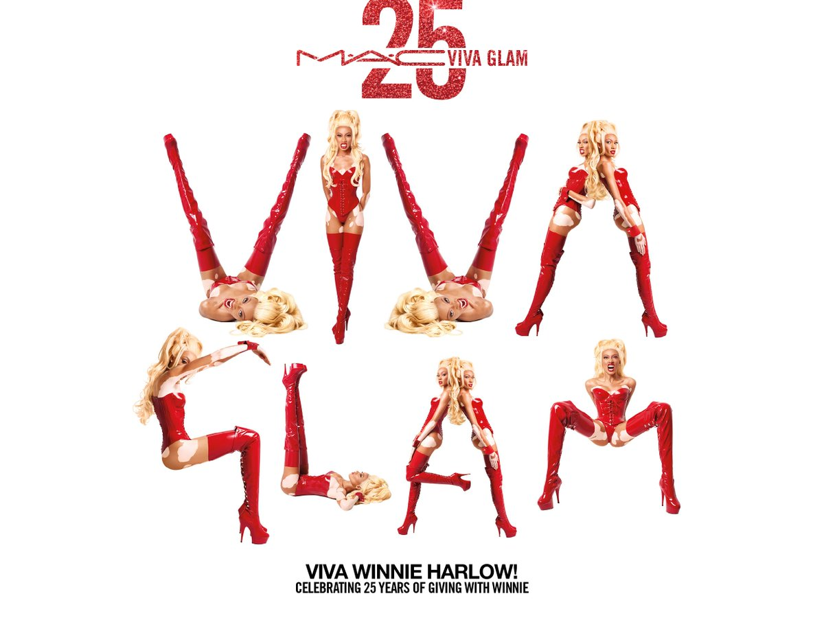 a17e15e4f26 ... Winnie celebrates the irreverence, outrageous style and irrepressible  love of life VIVA GLAM has been serving since 1994.pic.twitter .com/bAPqPgAKYn