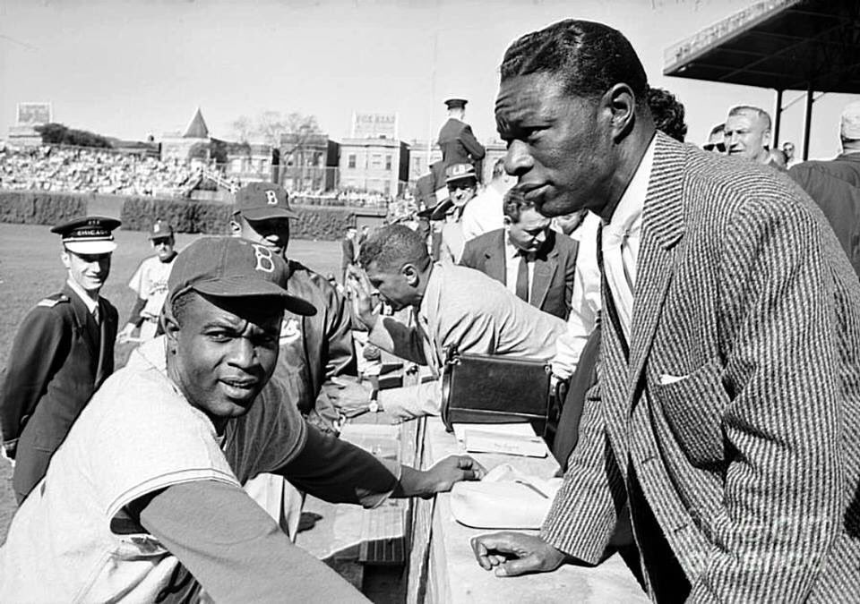 Jackie Robinson and Nat King Cole Heroes #JackieRobinsonDay <br>http://pic.twitter.com/5yPG5lhflF