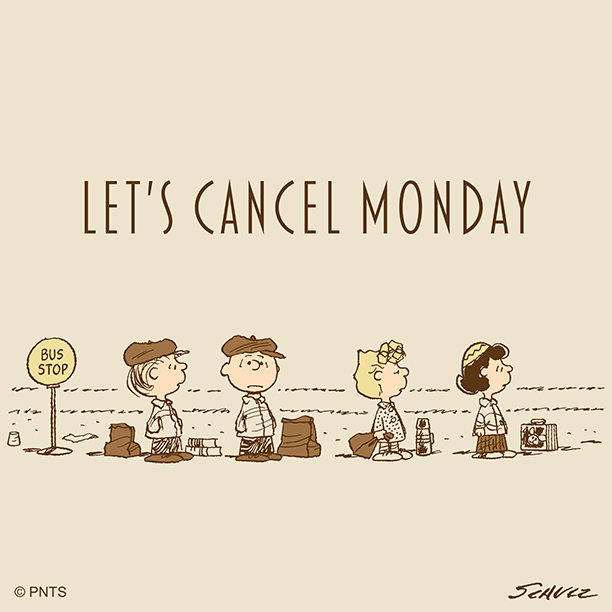 Can we skip to Friday?