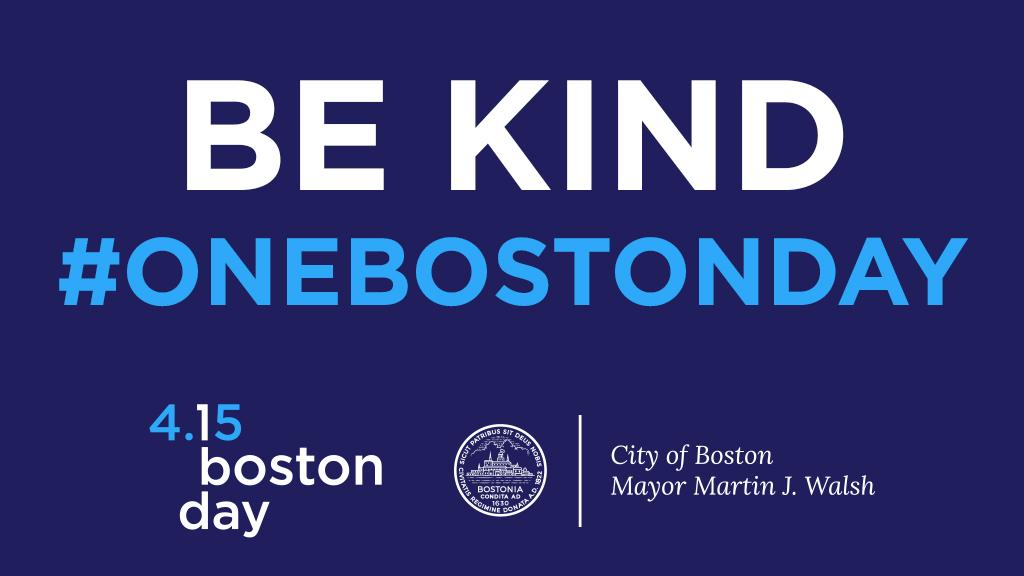 Tonight, our lights will shine blue &amp; yellow to celebrate the resiliency, generosity, and strength of our great City. #OneBostonDay <br>http://pic.twitter.com/BTKY1ng4oL