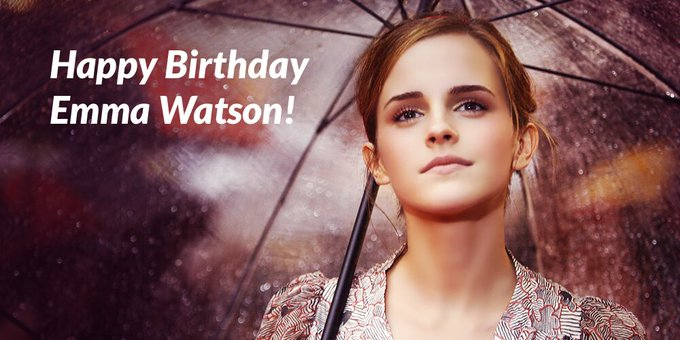 Happy Birthday to women\s rights warrior, Emma Watson!