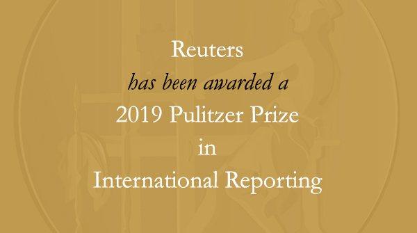 Congratulations to the staff of @Reuters, including @walone4 and Kyaw Soe Oo. #Pulitzer #rohingya #pressfreedom #FreeWaLoneKyawSoeOo