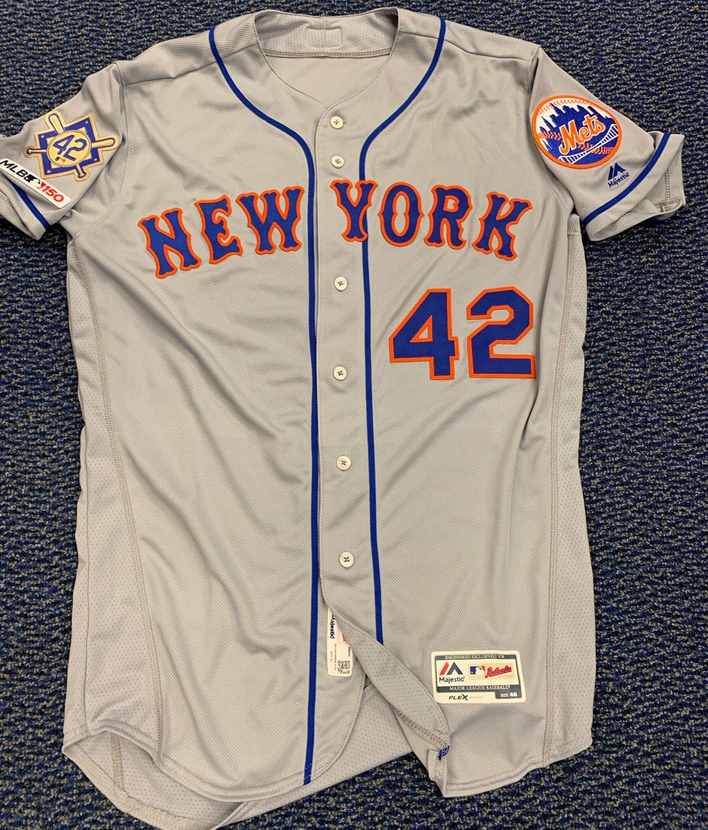 Ready to battle Philly for the first time this season! Special uniforms on #JackieRobinsonDay to kick start the series. #LGM <br>http://pic.twitter.com/j2CXi2HJaO