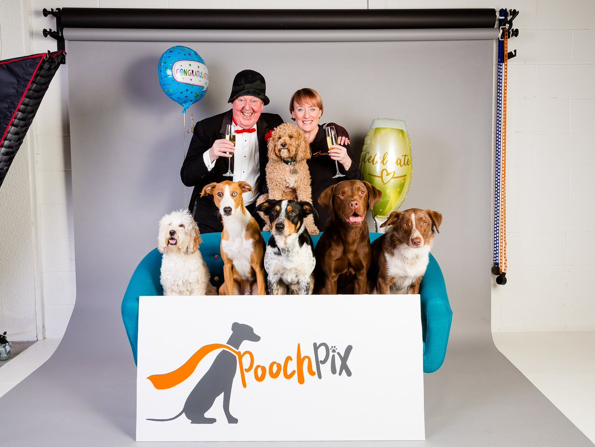 PoochPix studio official opening with comic legend @jimmy__cricket and furry friends! #dogphotographer #photostudios #poochpix #dogtog #saysausagespic.twitter.com/Z7NiohP1Ll