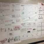 Image for the Tweet beginning: Nice projects from Mrs. Abreu's