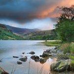 Beautiful landscape of Llyn Gwynant in Snowdonia, #Wales