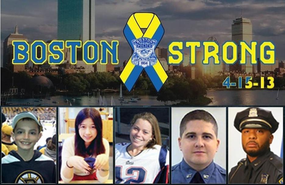 Today, we remember those who lost their lives 6 years ago during the #BostonMarathon bombing on April 15, 2013.  They will never be forgotten and will always remain in our thoughts &amp; prayers.   #BostonStrong #PatriotsDay #MarathonMonday #OneBostonDay <br>http://pic.twitter.com/oh3AG7jMD5