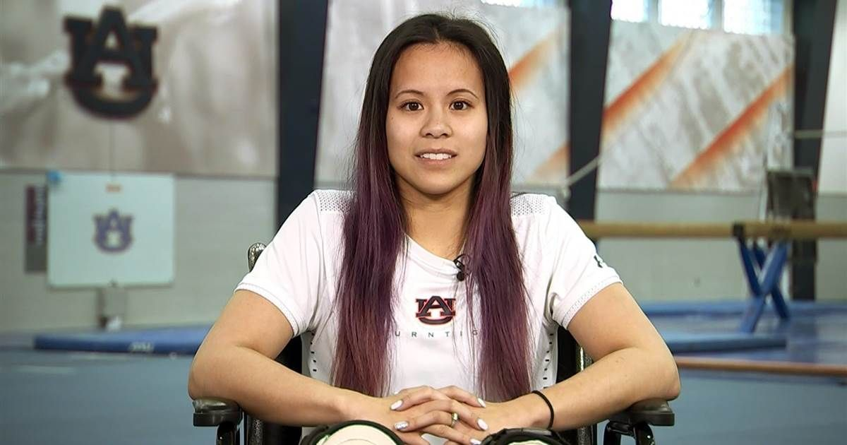 Auburn gymnast Samantha Cerio opens up about moment of career-ending injury on @TODAYshow  https:// buff.ly/2Gq9vF9  &nbsp;  <br>http://pic.twitter.com/r5fJ9MOxEu