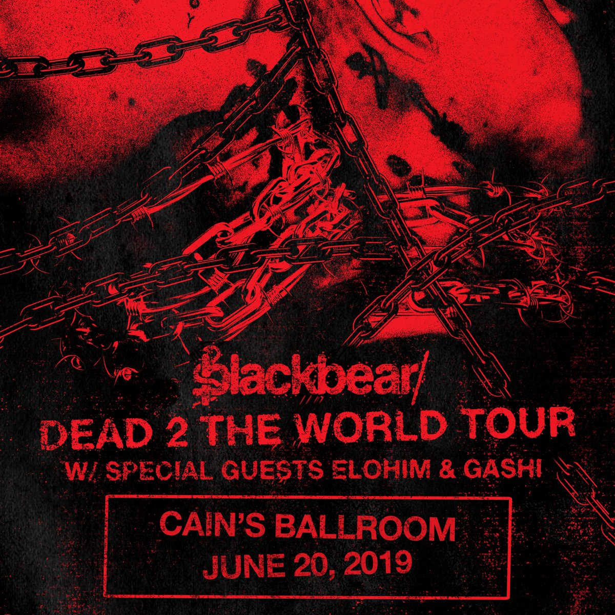 Presale tickets are available now thru 10pm Tuesday for @iamblackbear's #dead2theworldtour on June 20! Use promo code VIBES here... https://www.ticketfly.com/purchase/event/1851447 …