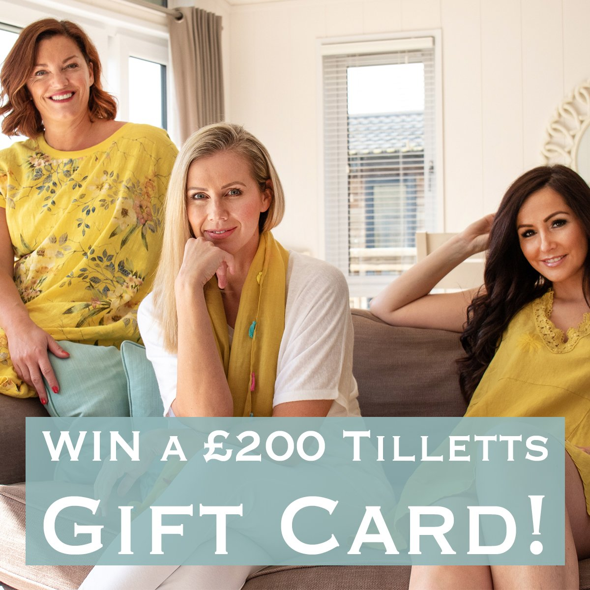 Follow and Retweet for your chance to WIN a massive £200 Tilletts gift card!  #motivationmonday #giveaway #prizedraw #retweettowin #MondayMotivation #easterweekend #competition #tilletts #win<br>http://pic.twitter.com/TAeWBKtcJq