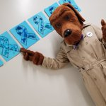 Image for the Tweet beginning: McGruff the Crime Dog takes