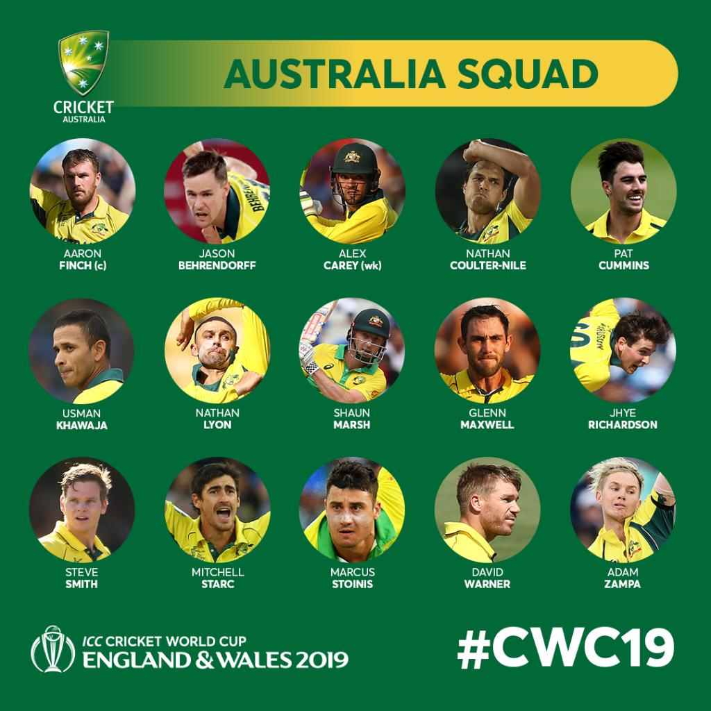 D4NEY3gXsAMOEyh - Cricket World Cup 2019: All the squads