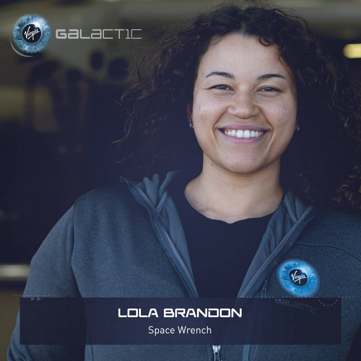What job does a Space Wrench do? Meet one of ours, Lola Brandon. 'I work to ensure the spaceship is ready to fly.'