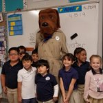 Image for the Tweet beginning: McGruff the Crime Dog classroom