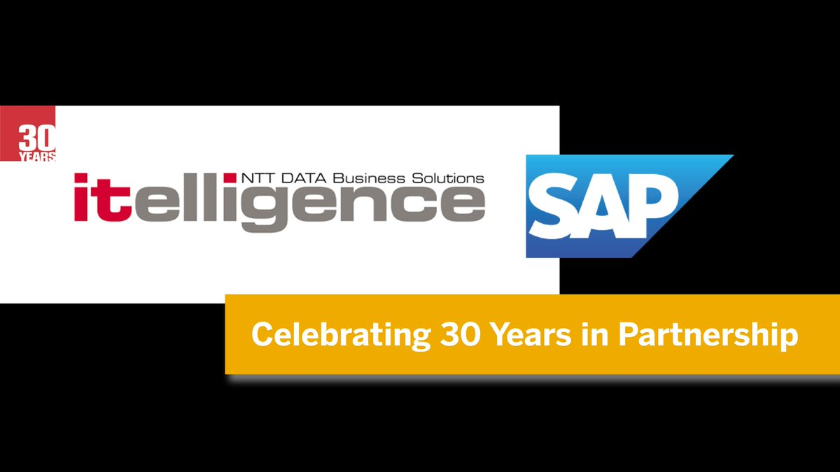Congrats to #SAPPartner @itelligencecorp on a successful 30 year  partnership with @SAP! And, THANK YOU to our mutual customers for your long term trust.  #CustomerFirst #ThanksfortheTrust #ThankYou  #Trustin30years #30years<br>http://pic.twitter.com/lRQmjptncw