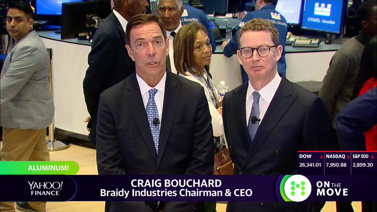 "Highlight: Russian aluminum giant Rusal is investing in a plant in Kentucky with @braidyinc. Despite existing tariffs, ""we can absorb those tariffs and still be highly competitive and get a great deal through to the end consumer,"" says Rusal parent En+ Group's Lord Greg Barker."