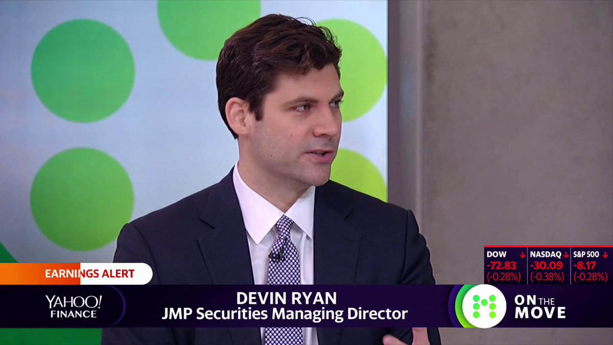 "Highlight: ""$GS is going through one of the biggest transformations in financial services,"" says JMP Securities' Devin Ryan. ""There's a lot of new legs of the stool as you look forward."" Full interview:"