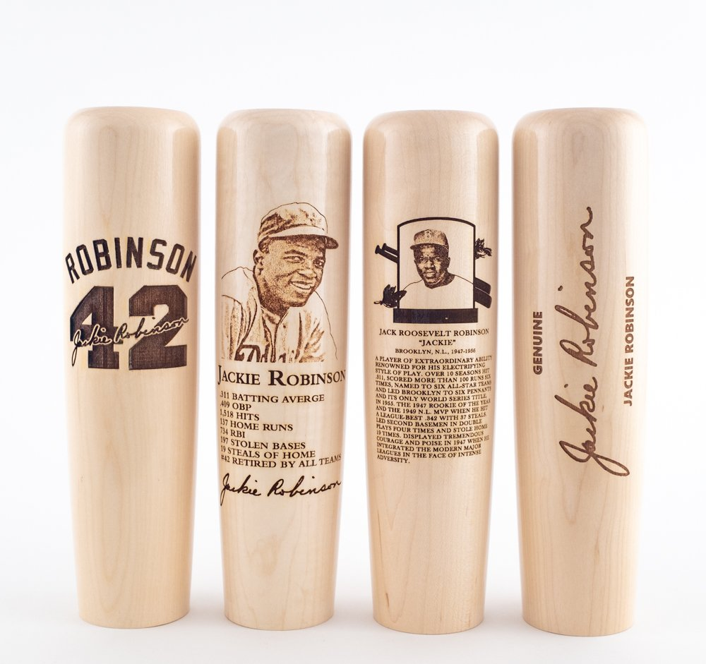 72 years ago today, Jackie Robinson broke baseball&#39;s color barrier. #ThankYouJackie  Today only, we&#39;re offering FREE SHIPPING on our Jackie Robinson Commemorative #BatMugs. Use Code &#39;JR42&#39; at Checkout!   Shop:  http:// bit.ly/jackierobinson mugs &nbsp; … <br>http://pic.twitter.com/tGNgbnWAPS