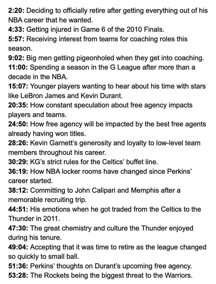 Kendrick Perkins on The Woj Pod. apple.co/2vm1oF0