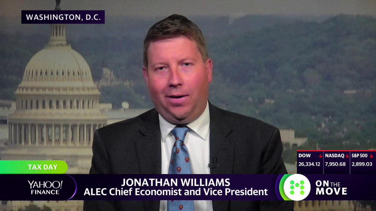 "Highlight: ""We find in our report a very strong correlation between states with high tax burdens and overall anti-business policies and high outmigration of taxpayers and businesses,"" says Rich States Poor States Author and ALEC Chief Economist Jonathan Williams. Full interview:"